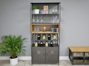 Retro Industrial Wine Bar