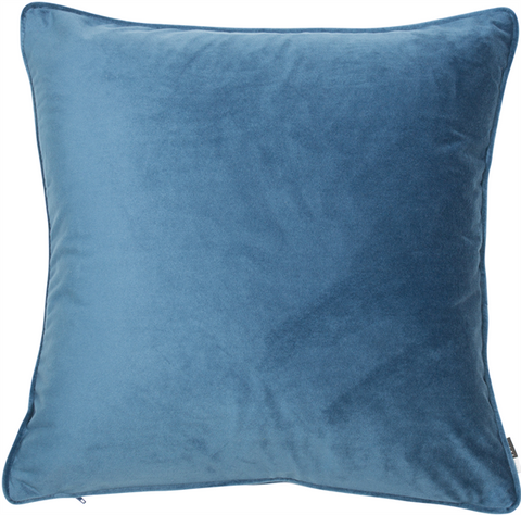 Luxe Classic Blue Large Cushion