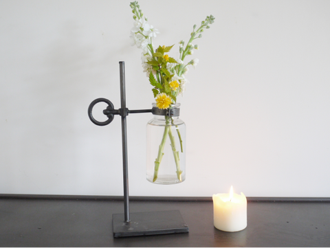 Industrial Flower Holder