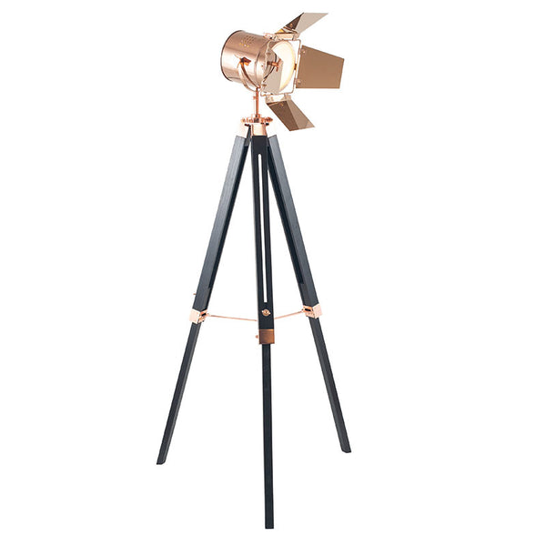 Film Set Floor Lamp-Copper