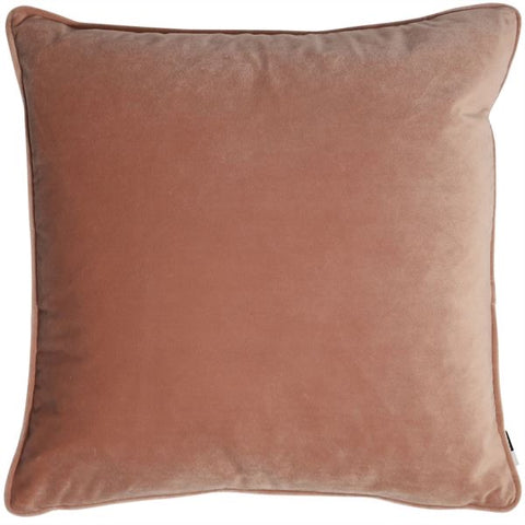 Luxe Putty Pink Velvet Cushion