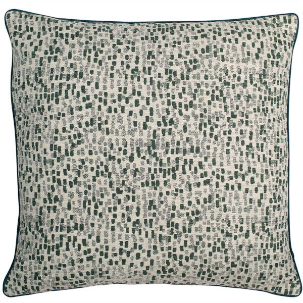 Large Dash Green Cushion
