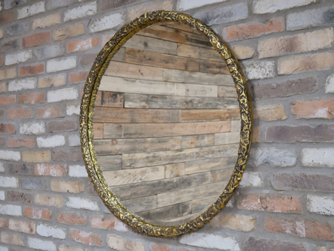 Brushed Bronze Mirror