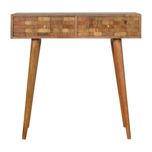 Tiled Front Console Table