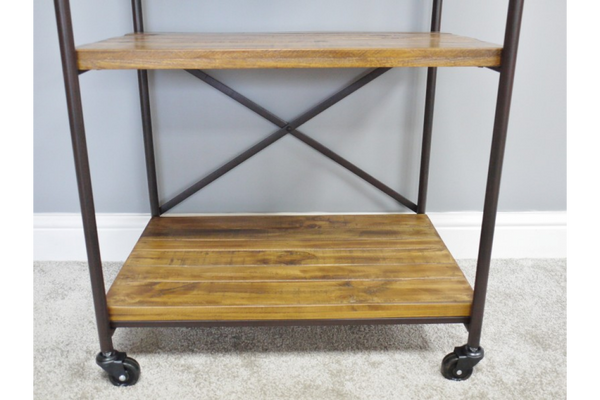 Industrial Wheel Shelving Unit - Small
