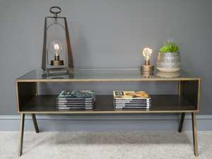 Retro Bronze Coffee Table