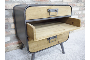 Retro Industrial Small Unit / Bedside