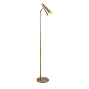 Antique Brass Task Floor Lamp