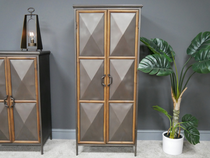 Panelled Industrial Cabinet (Large)