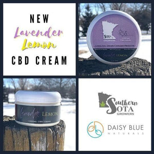 1000mg Lavender Lemon CBD Cream