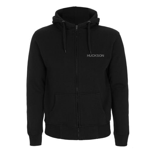 High Neck Zip-up Hoodie