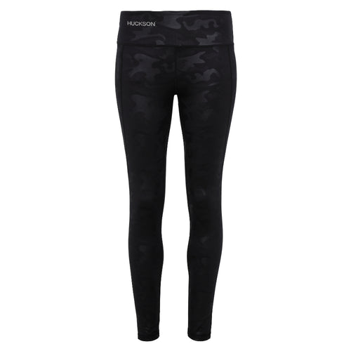 Black Camo Full Length Leggings