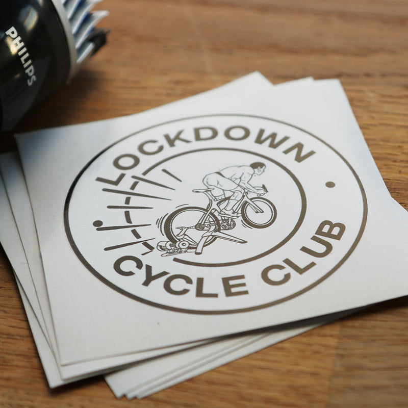 Lockdown Cycle Club Stickers