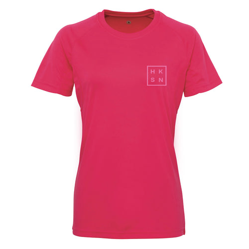Hot Pink Technical Training Tee