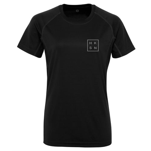 'Stealth' Black  Technical Training Tee