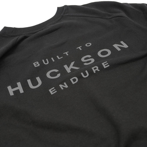 Black 'Built To Endure' Organic Raglan Sweater (Unisex)
