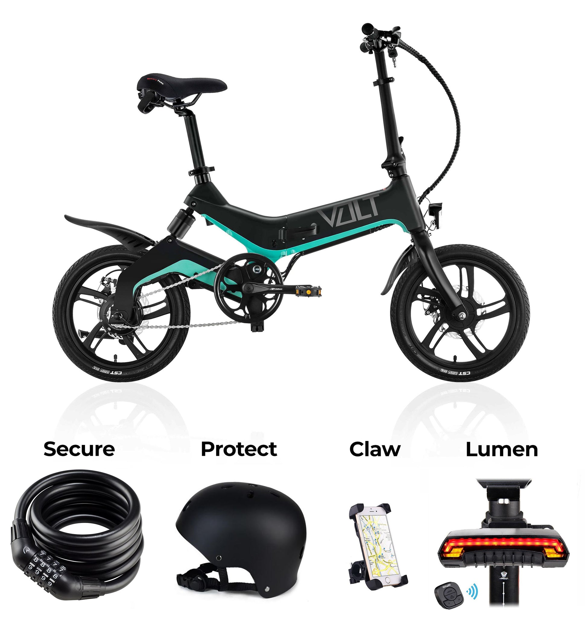 The VOLT E-Bike - Accessories Package