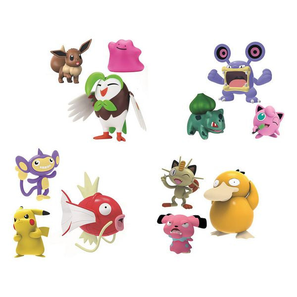 Figuras de Acción Pokemon 114836 (3 pcs)