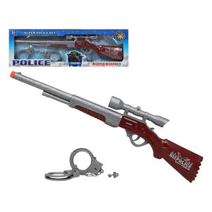 Set de Policía Super Weapon 111506 (2 pcs)