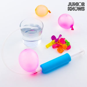 Globos de Agua con Bomba de Llenado Junior Knows (pack de 30)