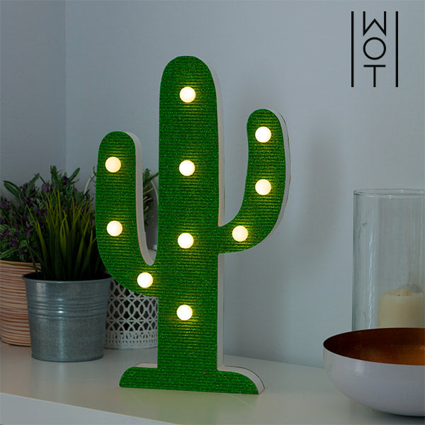 Lámpara LED Cactus Wagon Trend (10 LED)