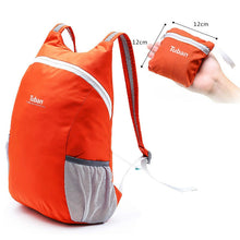 Cargar imagen en el visor de la galería, TUBAN Lightweight Nylon Foldable Backpack Waterproof Backpack Folding Bag Portable Men Women Backpack for Travel Mochila Mujer