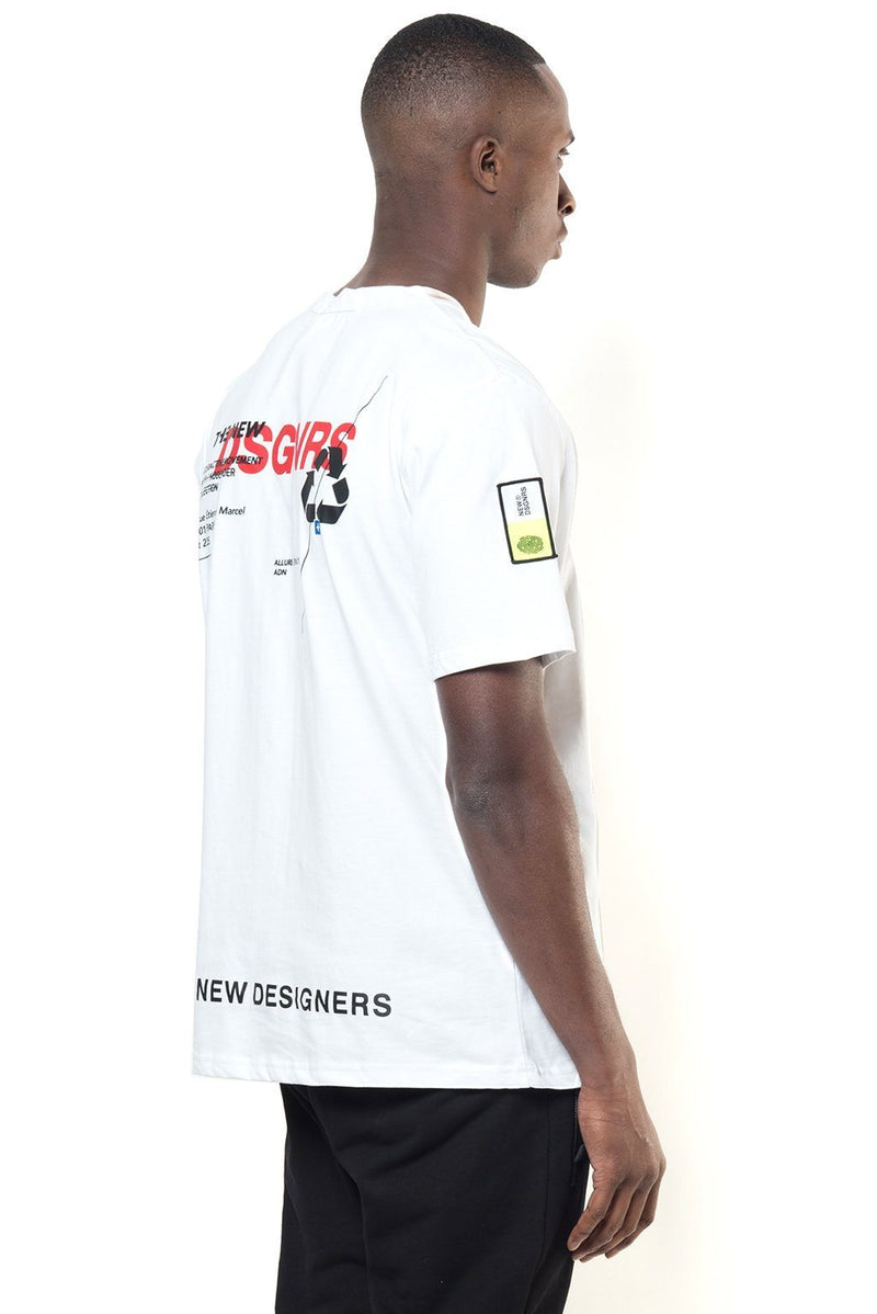 MOVEMENT WHITE Homme THE NEW DESIGNERS