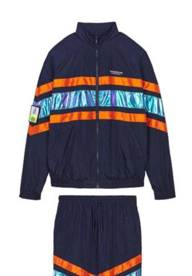 FLASH NAVY IRIDESCENT Homme THE NEW DESIGNERS Navy-Iridescent XS