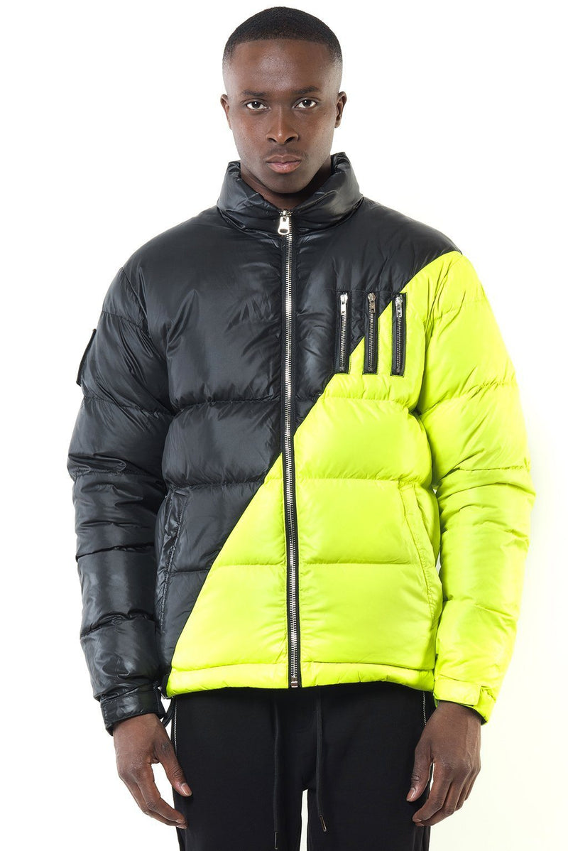 MIDDLE BLACK-NEON YELLOW Homme THE NEW DESIGNERS