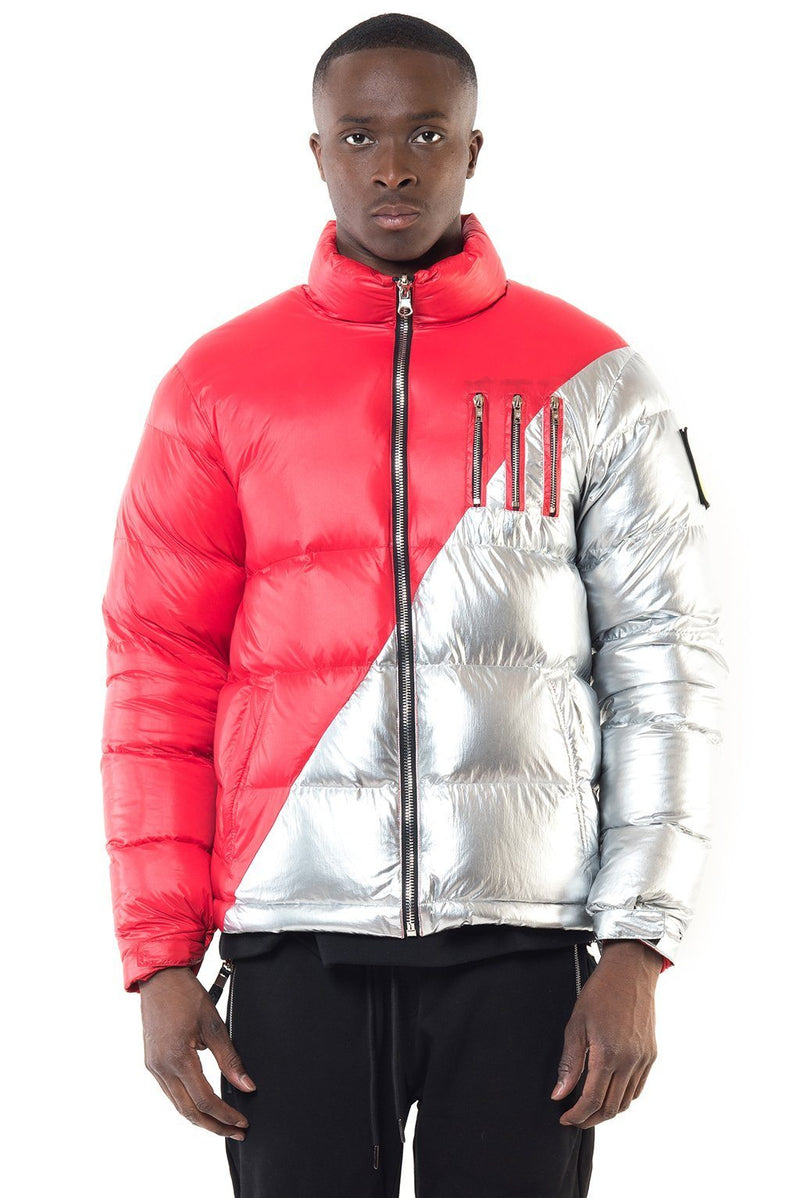 MIDDLE RED-SILVER Homme THE NEW DESIGNERS