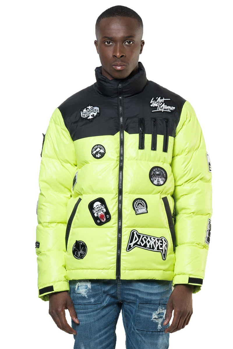 BINKS NEON YELLOW Homme THE NEW DESIGNERS