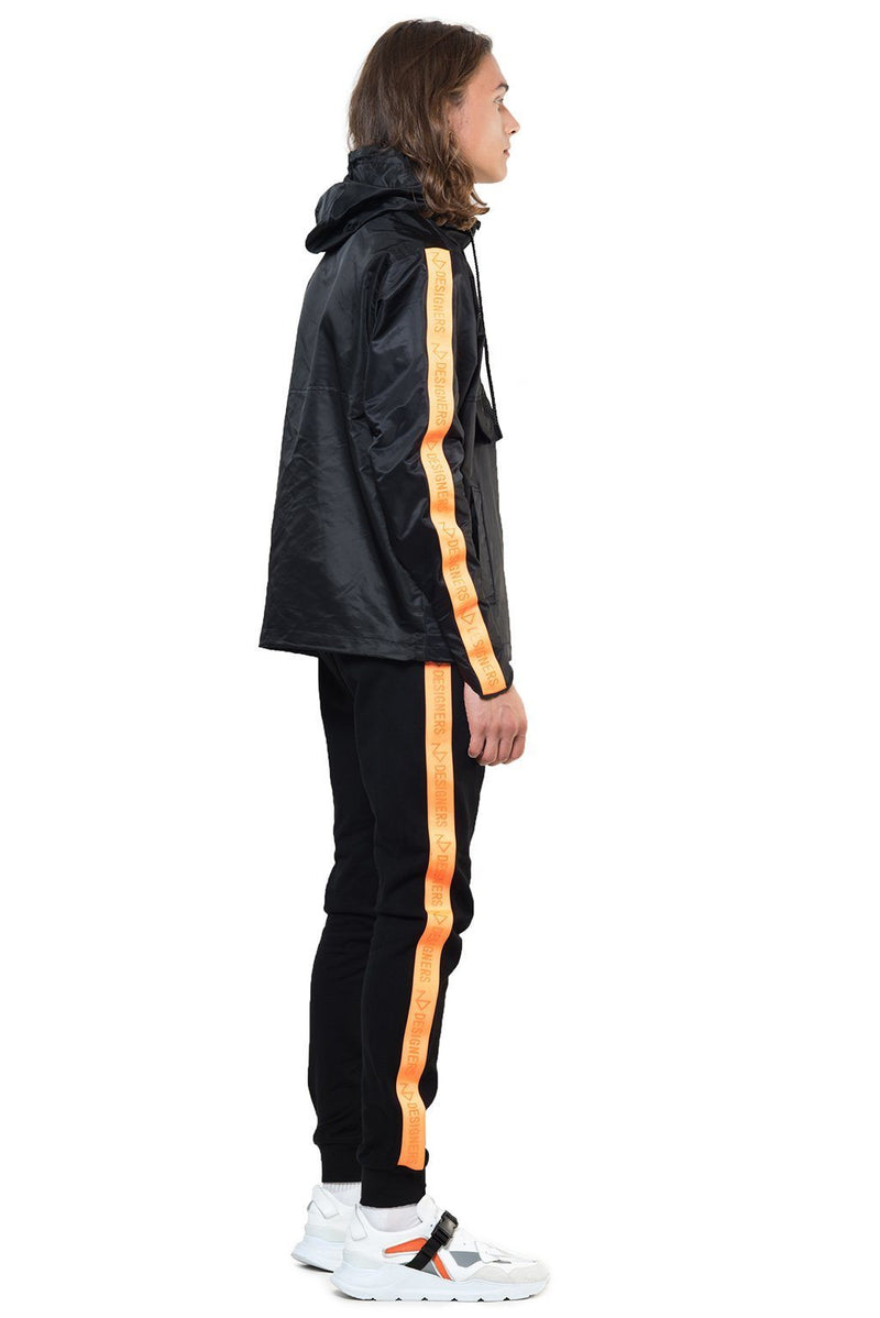 STORM BLACK-ORANGE Homme THE NEW DESIGNERS