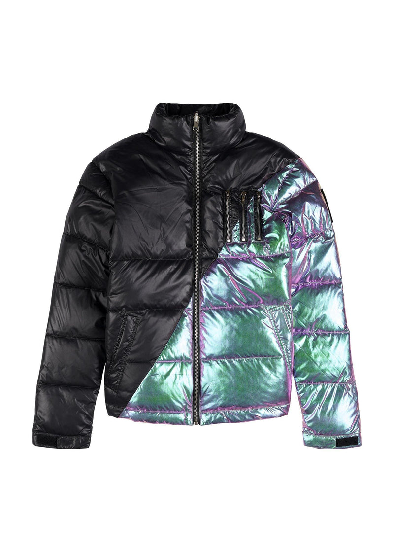 MIDDLE BLACK-IRIDESCENT REVERSIBLE Homme THE NEW DESIGNERS Black-Iridescent XS