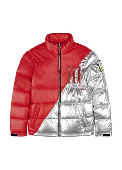 MIDDLE RED-SILVER Homme THE NEW DESIGNERS Red-Silver XS