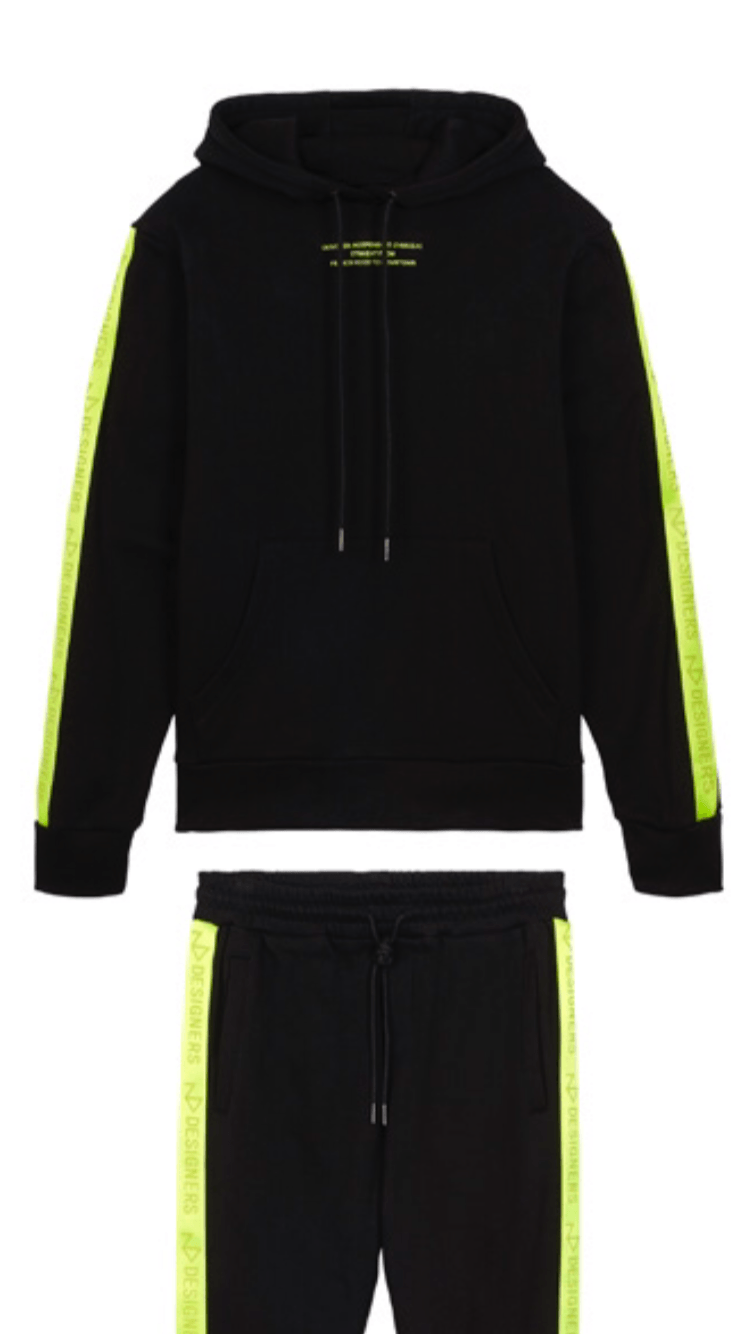 LIBERTY BLACK-NEON YELLOW Homme THE NEW DESIGNERS Black-Neon Yellow XS
