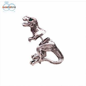 SUSENSTONE Dinosaur Earrings New Women Ladies Fashion Jewelry