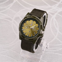 Load image into Gallery viewer, 2019 Men Nylon band Military watch Gemius Army watch High Quality Quartz Movement Men sports watch Casual wristwatches