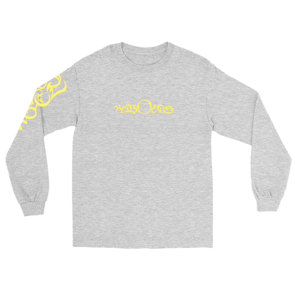 SPORTS ANGEL EMBROIDERED LONG SLEEVE (ASH GREY)