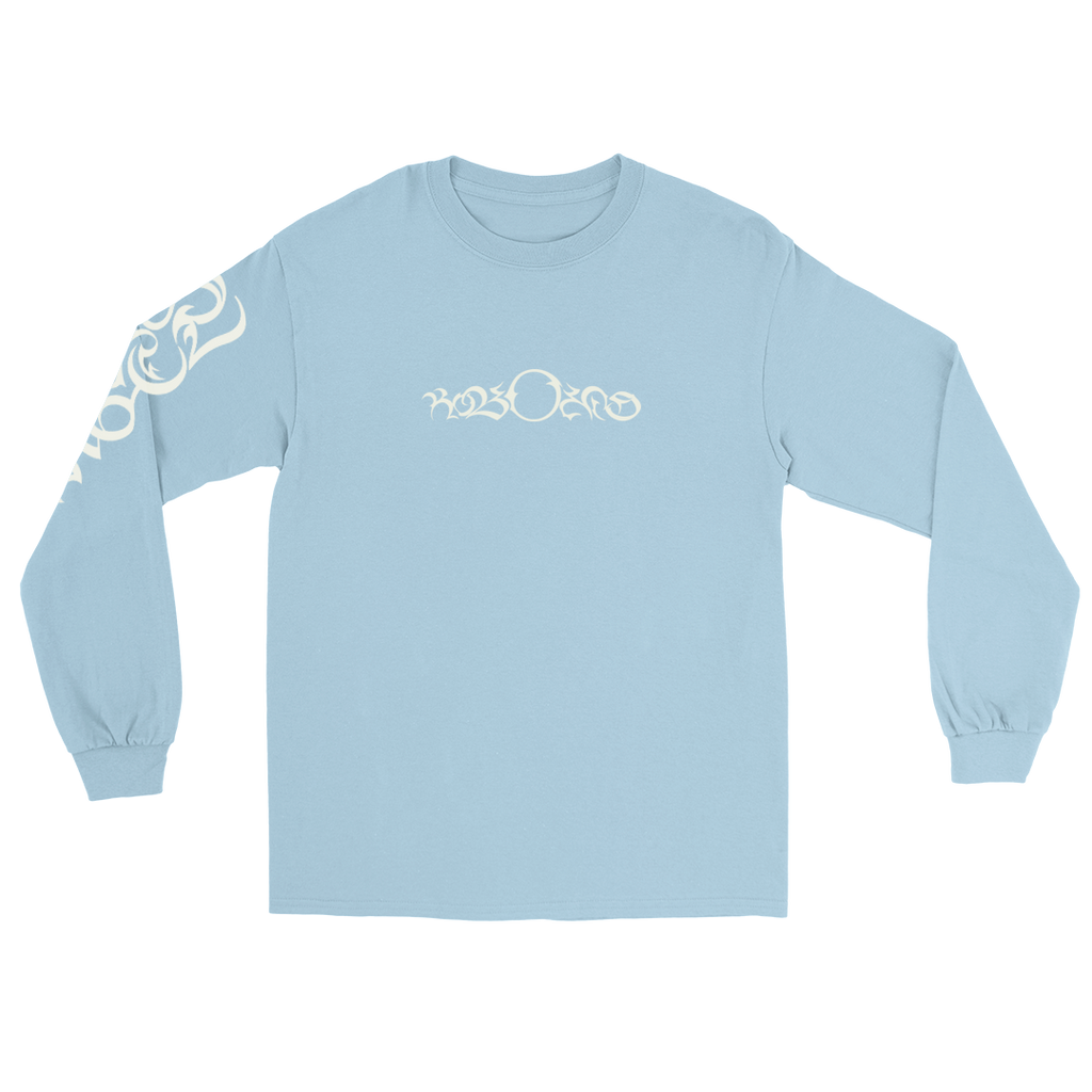 SPORTS ANGEL EMBROIDERED LONG SLEEVE (BABY BLUE)