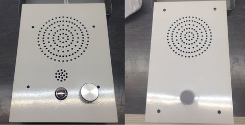 Carecom Bespoke Intercom Stations for healthcare