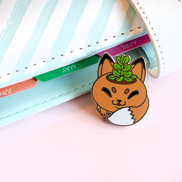 Fox Planter Pin