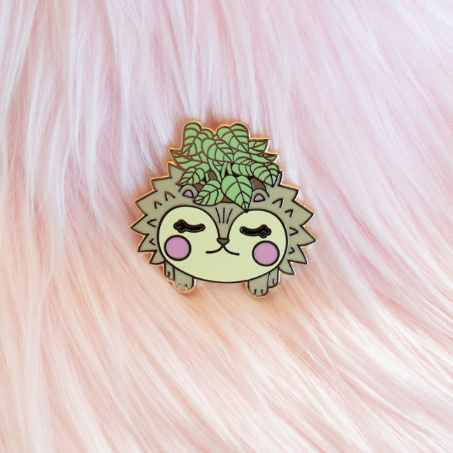 Hedgehog Planter Pin