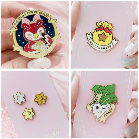 AC Enamel Pin Bundle