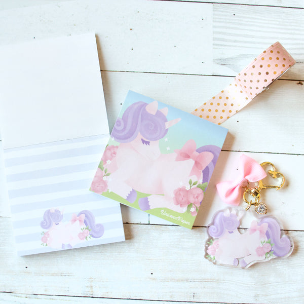 Dreamy Unicorn Mini Memo Pad