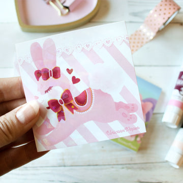 Love Bunny Mini Memo Pad