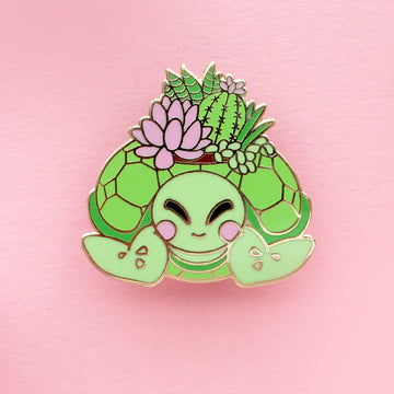 *PREORDER* Turtle Planter Pin
