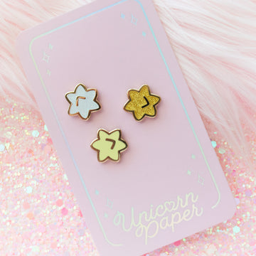 AC Wishing Stars Mini Pin Set
