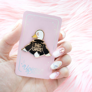 Bad Goose Enamel Pins