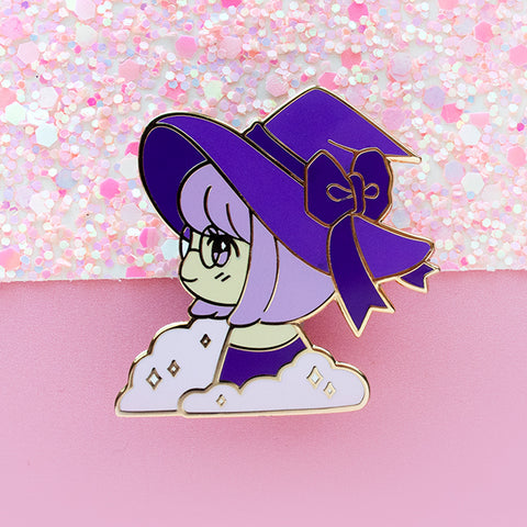 Kiki the Witch Enamel Pin