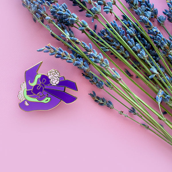 Kiki's Witch Hat Enamel Pin